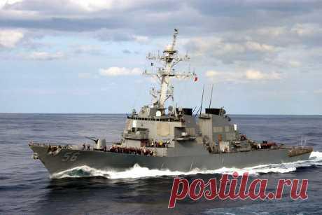 Американский эсминец нарушил российскую границу