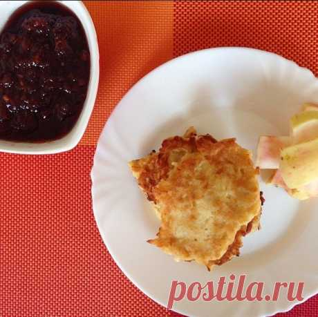 Оладьи из яблок рецепт – русская кухня: завтраки. «Еда»