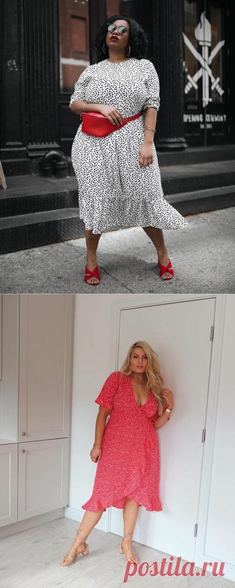 Модные платья для полных женщин 2021: самые трендовые фасоны | Идеи стильных людей ✮ | Яндекс Дзен