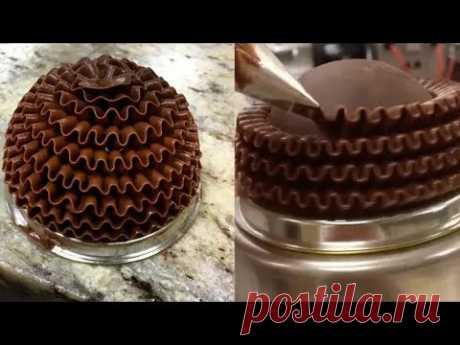 15 УДИВИТЕЛЬНЫЕ УКРАШЕНИЯ ТОРТОВ Amazing Chocolate Cake Decorating