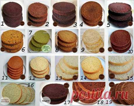 Еще больше рецептов бисквитов, как основа для ваших тортов. | Марина Белозерова | Яндекс Дзен