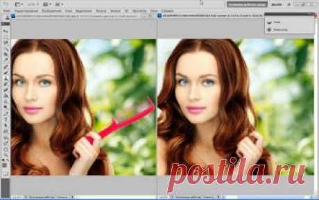 Как убрать лишний предмет с фотографии в фотошоп?