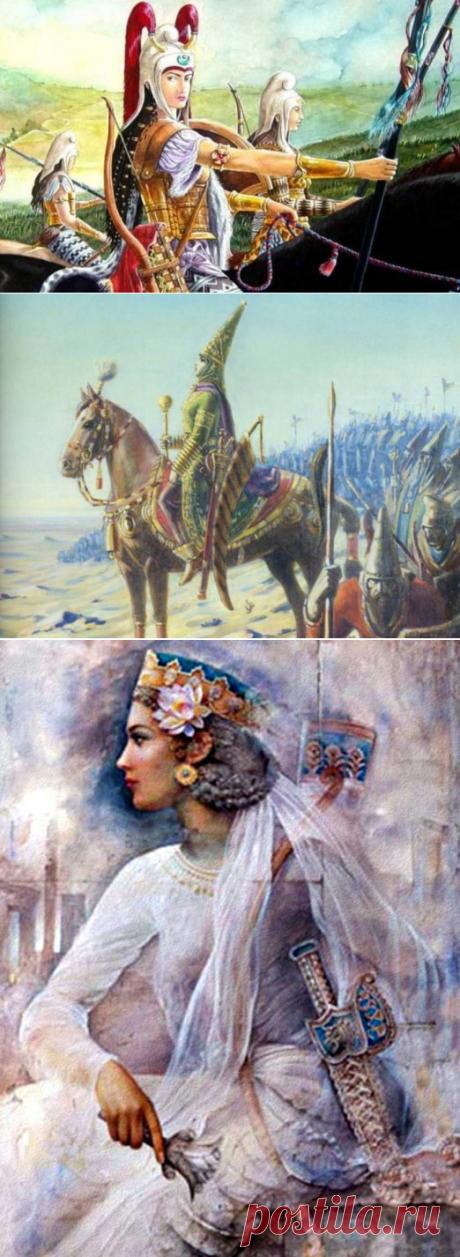 Бесстрашные и беспощадные: легендарные воительницы Древней Персии