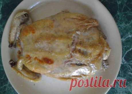 (10) Фаршированная курица - пошаговый рецепт с фото. Автор рецепта Нина . - Cookpad