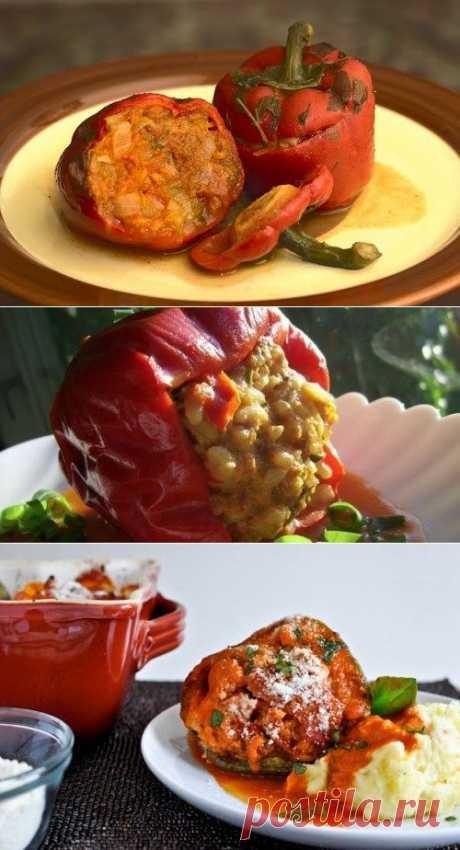 Необычные мясные начинки для фаршированных перцев