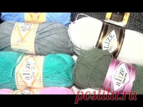My reviews of a yarn of Alize Iz of what I knitted also that I leave in favourites