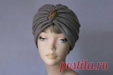 Модная шапка чалма своими руками Чалма своими руками делается очень просто - ее можно сшить или связать. Сделать это можно по схемам и видео урокам.