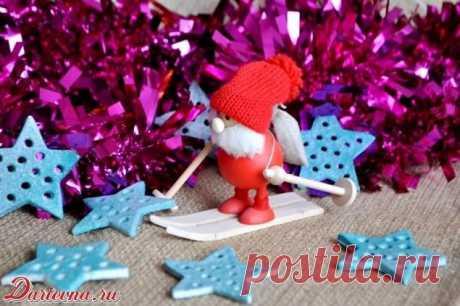 Los juguetes de Año Nuevo del test salado - más completo poshagovoe la dirección con las fotopruebas