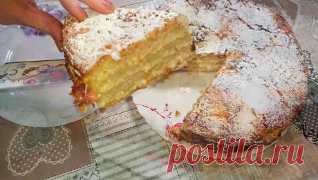 """Творожный Пирог """"Прага"""" - Гости будут приятно удивленны   Работница XXI века   Яндекс Дзен"""