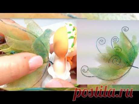 Fairy Wings/ Asas de fada - Tutorial