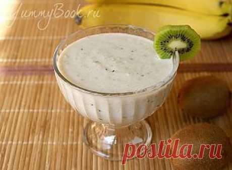 Овсяное смузи с фруктами - пошаговый рецепт с фото