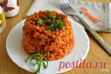 Томатное перлотто - пошаговый рецепт с фото на Повар.ру