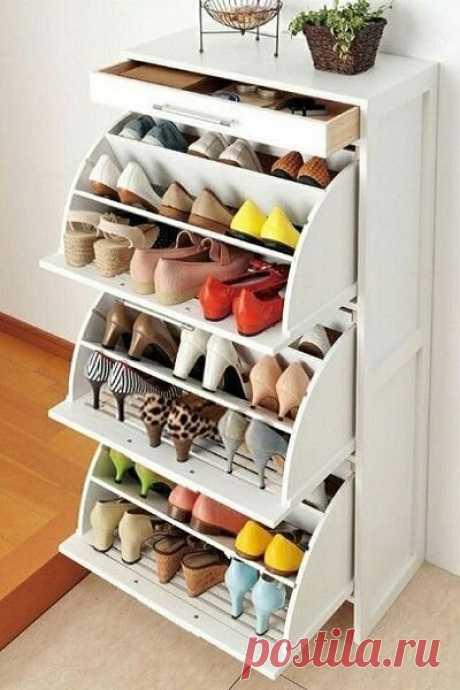 Хранение обуви в маленькой прихожей: 11 лучших идей | Твой стильный дом | Яндекс Дзен