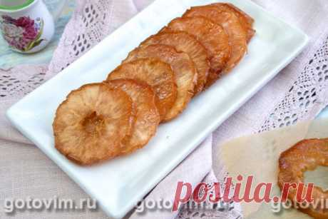Яблочные цукаты