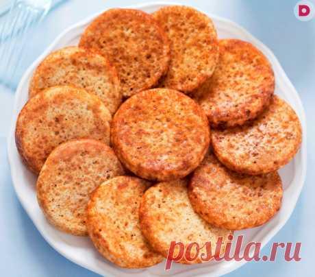 Постные диетические котлеты из геркулеса — рецепт приготовления