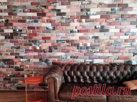 Кирпичная стена — незаменимый атрибут квартир в стиле лофт. Делая имитацию в этом стиле, нужно обеспечить максимально естественный вид, при этом рисунок долж...