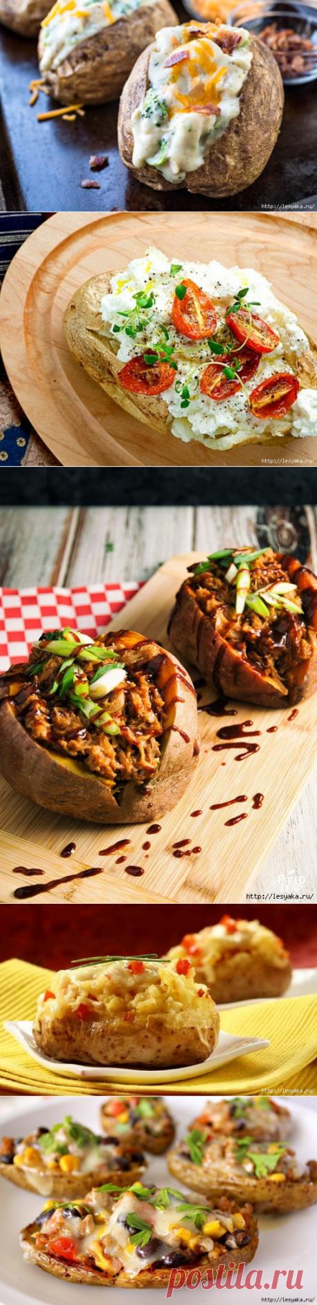 12 способов запечь картошку так, чтобы гости обалдели!