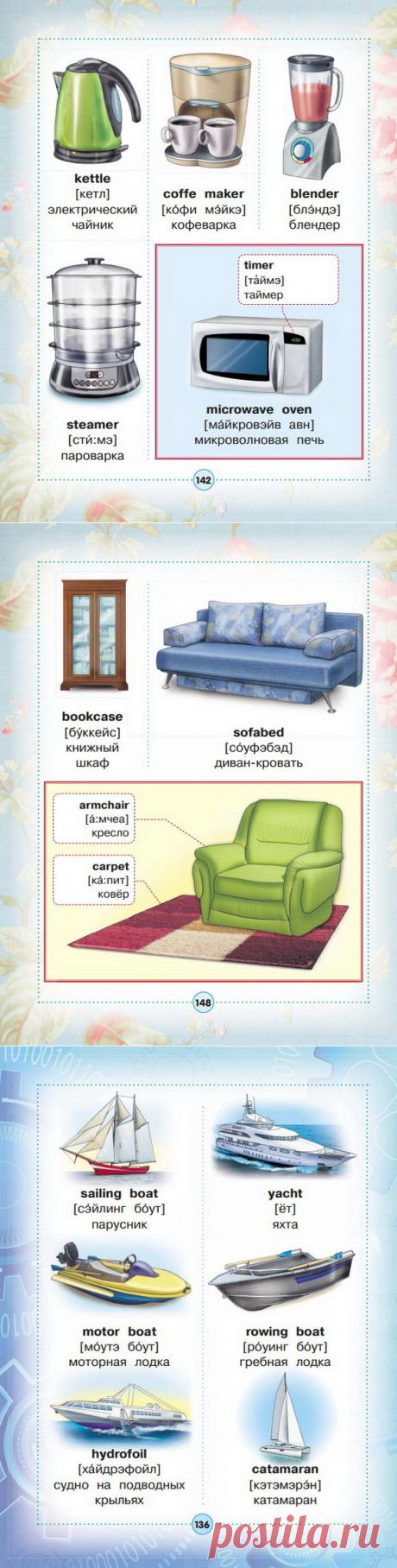 Англо-русский визуальный словарь для детей. Часть 3