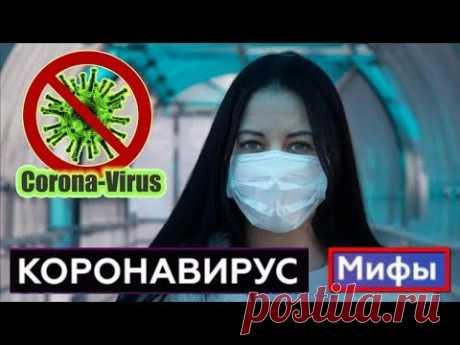Пандемия Коронавируса в мире: Мифы и Факты о КОРОНАВИРУСЕ в которые верят многие люди - YouTube