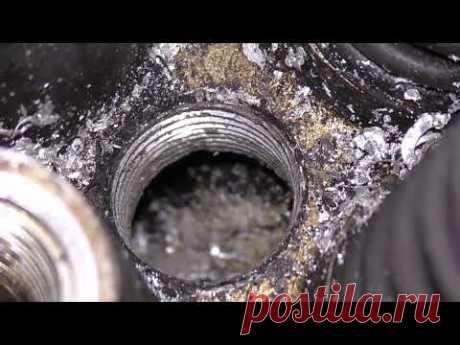 Выкрутить,заклеить,вырубить или заварить? Замена алюминиевых заглушек системы охлаждения двигателя