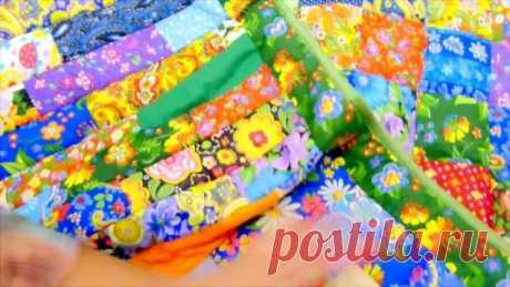 Шьем необычное лоскутное одеяло (Шитье и крой) – Журнал Вдохновение Рукодельницы