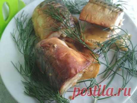 Оригинальный рецепт скумбрии в горчичном соусе, запеченной в духовке