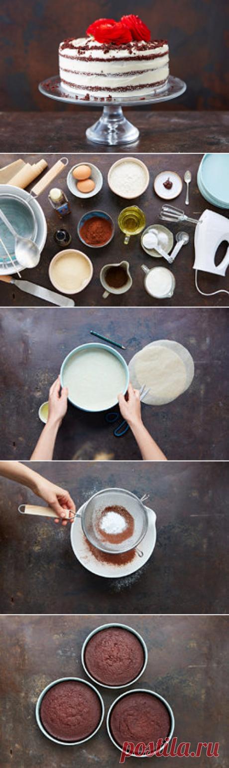 Красный Бархат - рецепт торта | Рецепты Джейми Оливера