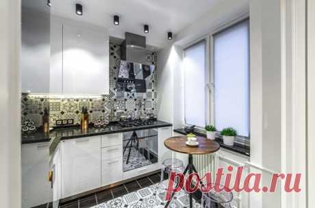 Как создать гармоничный дизайн кухни 6 кв м? (66 фото) Как обустроить маленькую кухню 6 кв м? Планировки, цветовая гамма, отделка, мебель и бытовая техника. Какой кухонный гарнитур, шторы и освещение выбрать? Фото в популярных стилях.