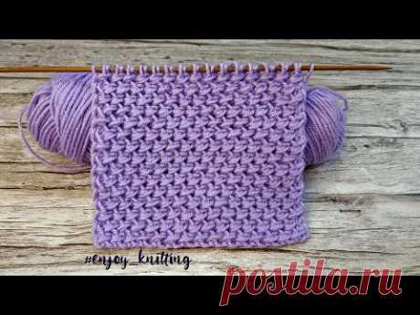 КРАСИВЫЙ Плотный Узор Спицами для пальто | Stitch knit pattern for coat, jumper, cardigan
