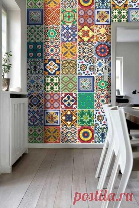 Цвет плитки в ванной: удачные сочетания