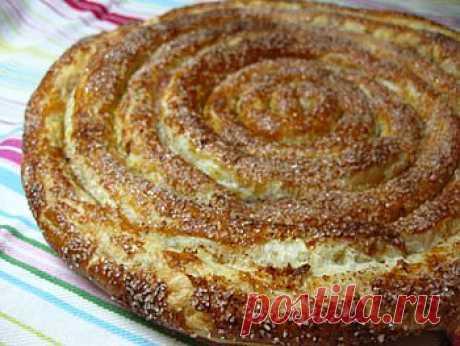 Рецепт яблочного пирога из слоеного теста в мультиварке - Пирог в мультиварке . 1001 ЕДА вкусные рецепты с фото!