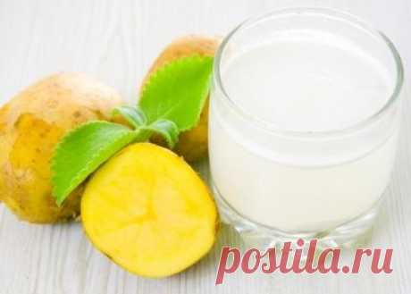 Potato juice - a natural way to grow thin and become younger...
