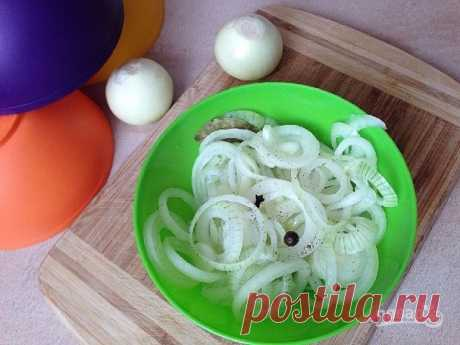 Marinated onions to a shish kebab - the step-by-step recipe from a photo on Повар.ру