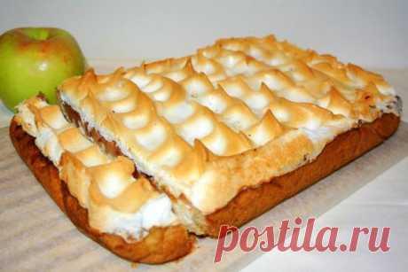 Немецкий яблочный песочный пирог «Яблочный спас»