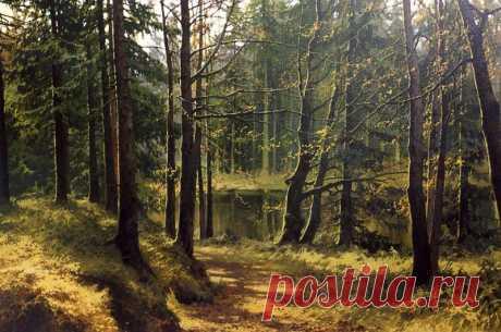 El paisaje lírico ruso. El pintor Alejandro Bulakov