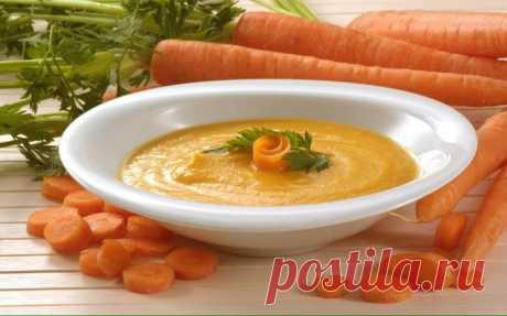 Морковный суп-пюре в мультиварке - Пошаговый рецепт с фото своими руками Морковный суп-пюре в мультиварке - Простой пошаговый рецепт приготовления в домашних условиях с фото. Морковный суп-пюре в мультиварке - Состав, калорийность и ингредиенти вкусного рецепта.