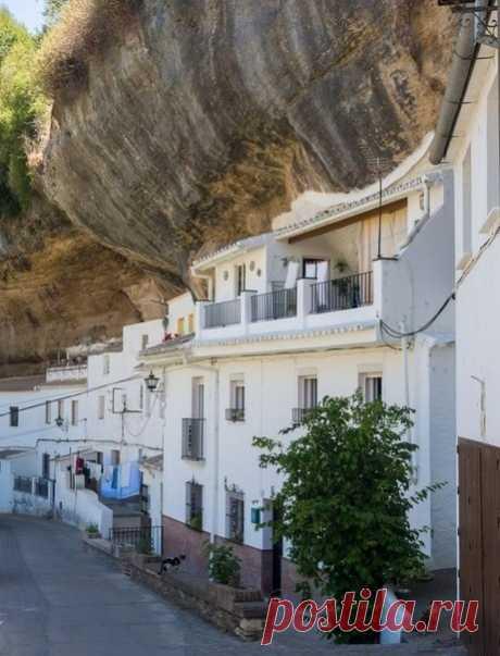 Сетениль-де-лас-Бодегас - один из удивительных белых городков Испании - Путешествуем вместе