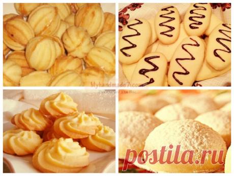 ТОП самых вкусных рецептов печенье на скорую руку