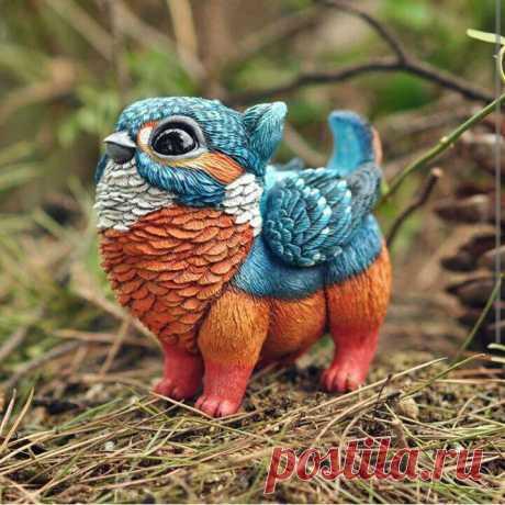 Сказочные птицы от испанского скульптора Lisa Toms - Ярмарка Мастеров - ручная работа, handmade