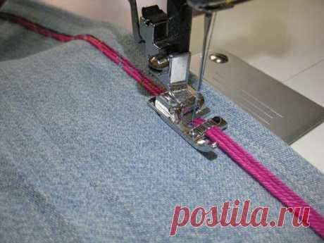 Лапки для швейных машин: виды, назначение, фото