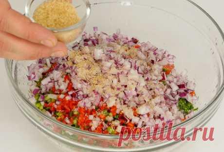 Пико-де-гальо пошаговый рецепт с видео и фото – мексиканская кухня: закуски