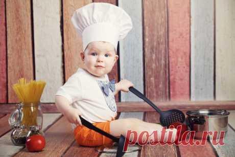 Большое меню для ребенка от 6 месяцев и до 1 года: 27 рецептов