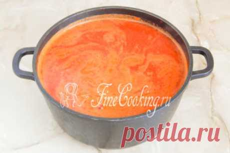 Домашняя томатная паста на зиму - рецепт с фото