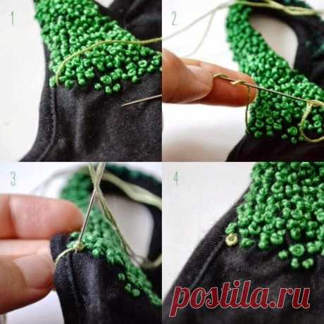 The French small knot — Make the technician itself, ideas for creativity - DIY Ideas