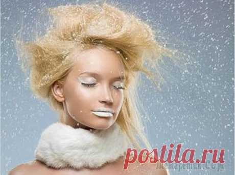 Medical mask against dandruff in house conditions