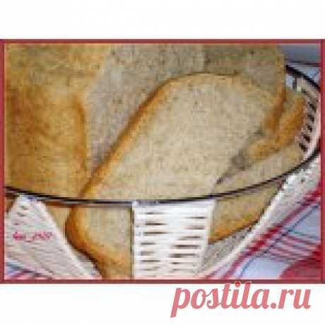 Хлеб с отрубями и кунжутом Кулинарный рецепт