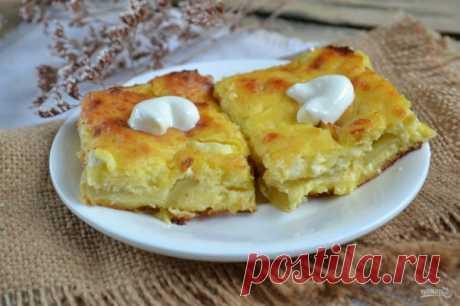 Творожно-яблочная запеканка - пошаговый рецепт с фото на Повар.ру