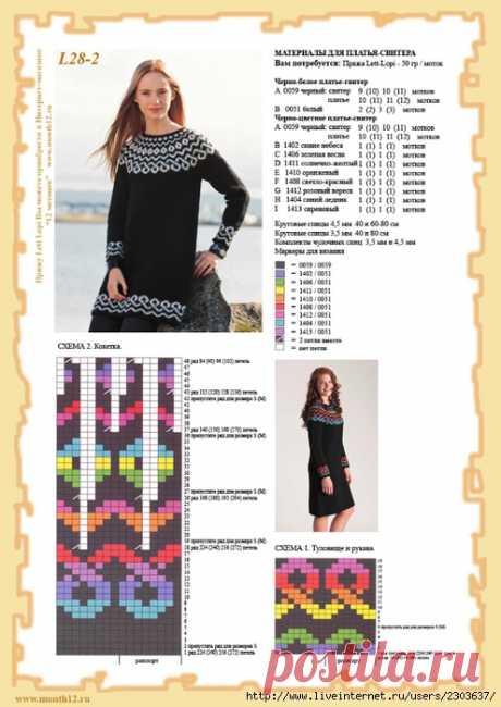 Исландский свитер лопапейса