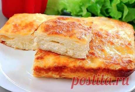 Очень вкусный пирог с сыром - Поверьте, нет ничего вкуснее!