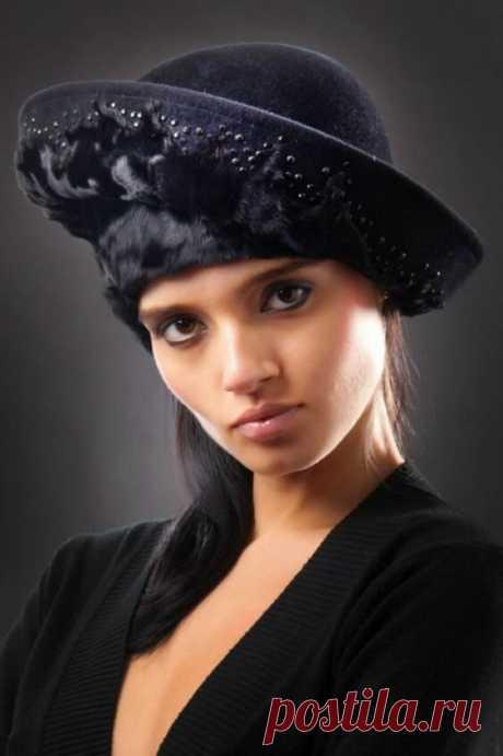 Почему популярны винтажные женские шапки и шляпки | Дом, работа, хобби | Яндекс Дзен